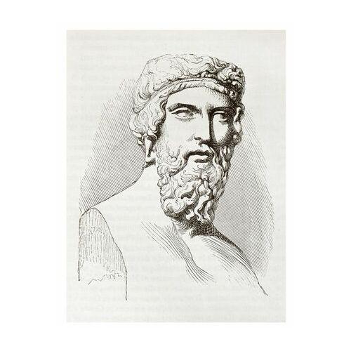 Art canvas Plakat portret neoclassic 30 x 40 cm