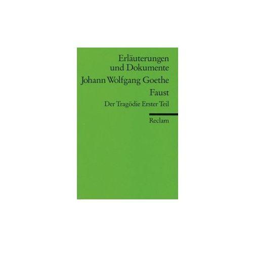 Johann Wolfgang Goethe 'Faust', Der Tragödie Erster Teil