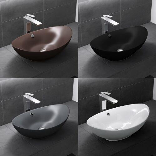 Umywalka nablatowa - lng818 60cm marki Liniger