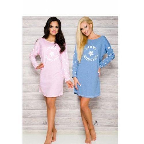Koszula nocna model nadia 2111 aw/17 k1 pink marki Taro