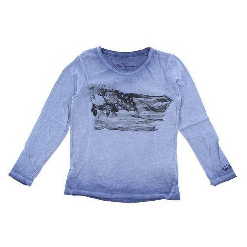 Pepe Jeans T-shirt dziecięcy Niebieski 8 lat, kolor niebieski