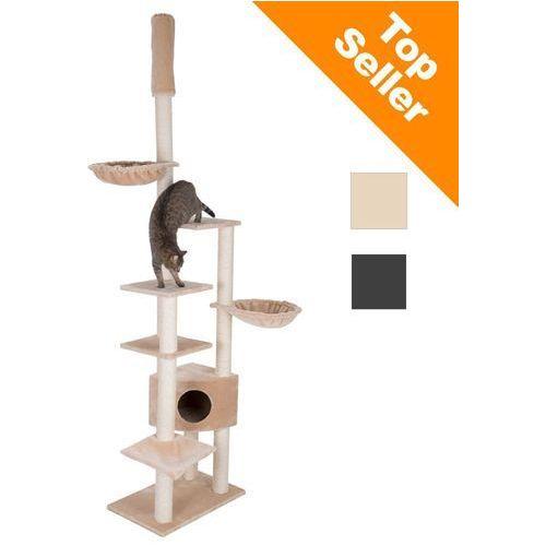 Atlas drapak dla kota - beżowy| darmowa dostawa od 89 zł i super promocje od zooplus! marki Zooplus exclusive