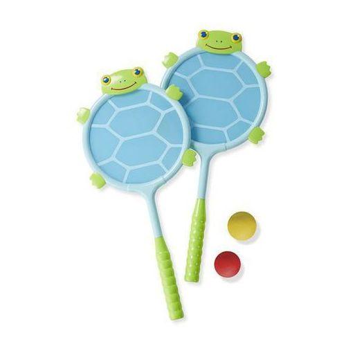 Melissa and doug - rakietki z żółwiem,  marki Melissa & doug