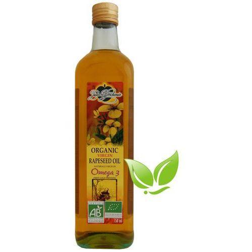 Olej rzepakowy tłoczony na zimno BIO 750ml - produkt z kategorii- Oleje, oliwy i octy