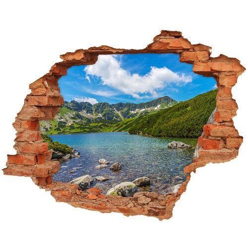 Dziura 3d w ścianie naklejka dolina tatry marki Wallmuralia.pl