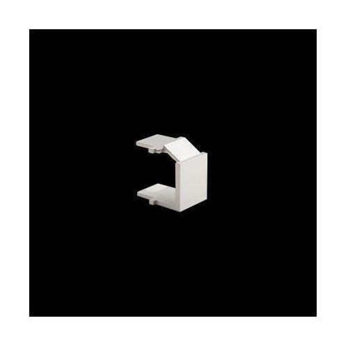 Zaślepka otworu wtyku rj45/rj12 do pokrywy gniazda teleinformatycznego; srebrny mat marki Kontakt-simon