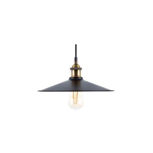Beliani Lampa wisząca czarno-mosiężna swift duża 30 cm (4260586355857)