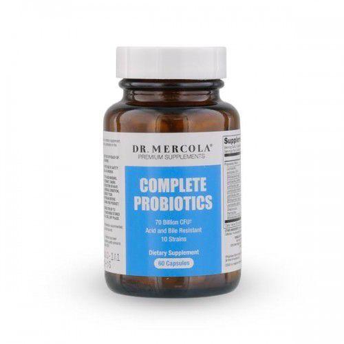 Probiotyki - Complete Probiotics Dr Mercola (60 kapsułek) - kapsułki prebiotyki i probiotyki