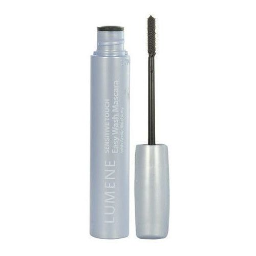 sensitive touch easy wash mascara 7ml w tusz do rzęs 1 deep black, marki Lumene