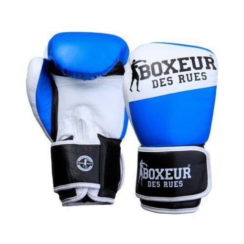 Rękawice bokserskie BOXEUR BXT-591 (14 oz) Niebiesko-biało-czarny
