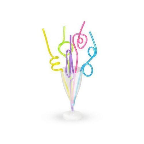 Ar Słomki crazy mix kształtów i kolorów - 25 cm - 5 szt (5907667293927)