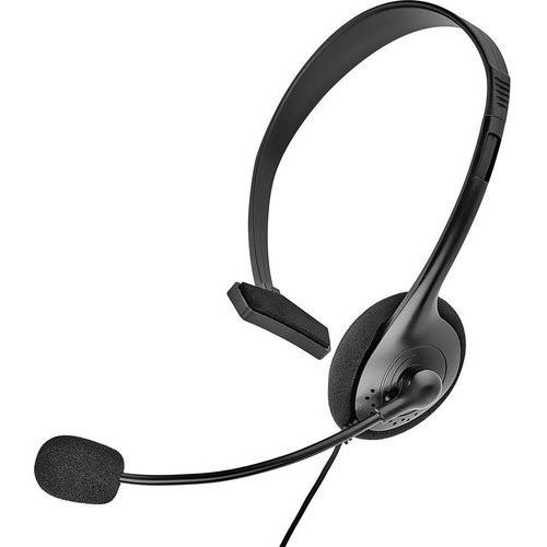 Zestaw słuchawkowy do telefonu Renkforce, Jack 2,5 mm, On Ear, czarny