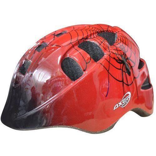 Kask rowerowy AXER SPORT Marcel Rican Czerwony (rozmiar M) (5901780902490)