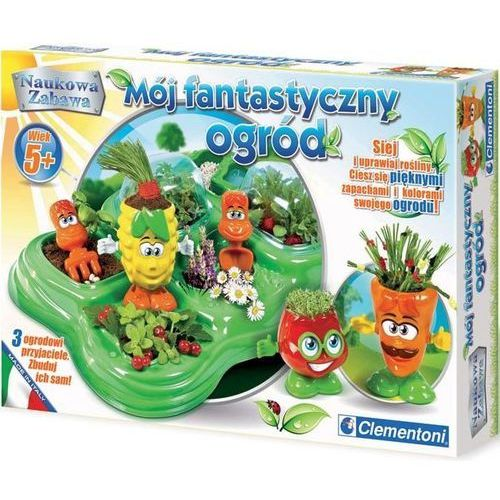 Clementoni, Fantastyczny ogród, zabawka edukacyjna (8005125607181)