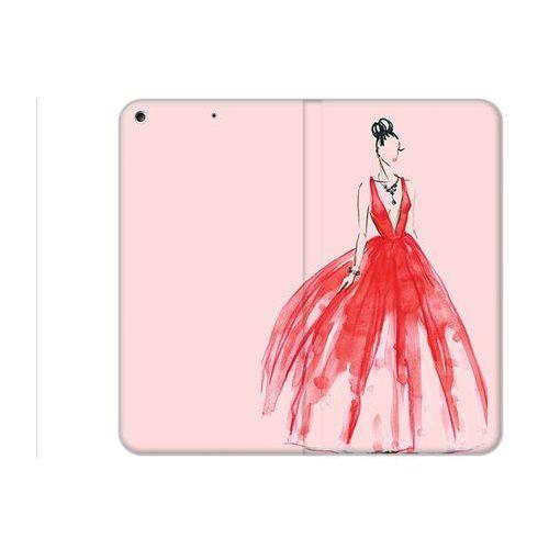 Etuo.pl Etuo flex book fantastic - apple ipad (2017) - etui na tablet flex book fantastic - czerwona suknia