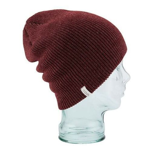 Czapka zimowa - the frena solid heather burgundy (13) rozmiar: os marki Coal