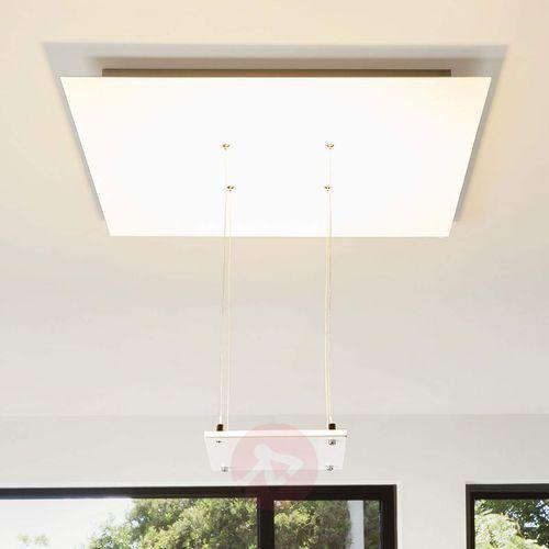 Marlou - biała lampa sufitowa led, pośrednia marki Lampenwelt.com