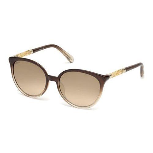 Okulary słoneczne sk0149-h 48g marki Swarovski