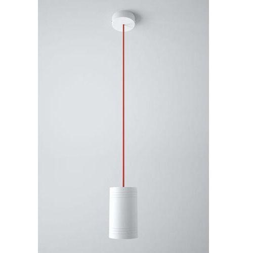 lampa wisząca podwójna CELIA A2 z czerwonymi przewodami, CLEONI 1271A2A+
