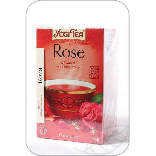 Herbata Tao Rose BIO (Yogi Tea) 17 saszetek po 2g (4012824400801)