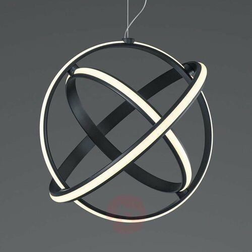 compton 321810342 lampa wisząca zwis 1x50w led 3000k antracyt marki Trio