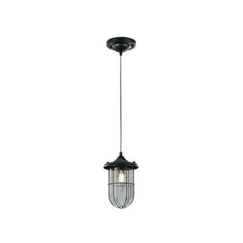 Trio birte lampa wisząca czarny, 1-punktowy - vintage/antyk - obszar wewnętrzny - birte - czas dostawy: od 3-6 dni roboczych