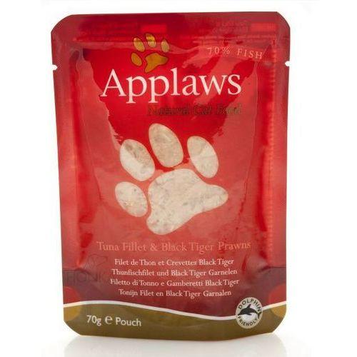 tuńczyk i krewetki tygrysie karma dla kotów saszetka 70g marki Applaws