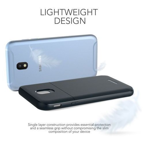 Etui VRS Design Single Fit Samsung Galaxy J5 2017 Navy Blue, kolor niebieski