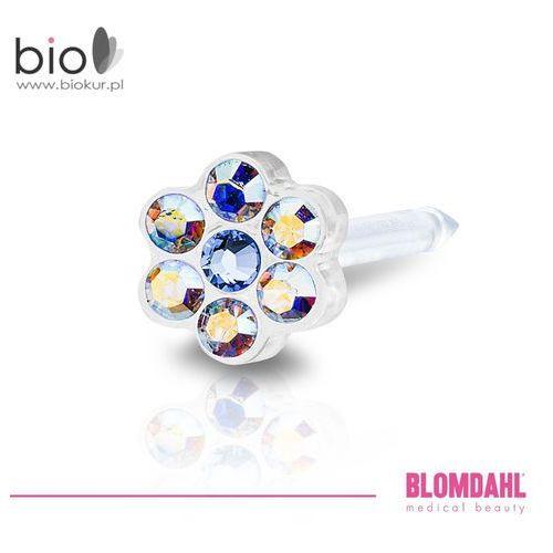 Blomdahl Kolczyk do przekłuwania uszu - daisy rainbow / alexandrite 5 mm