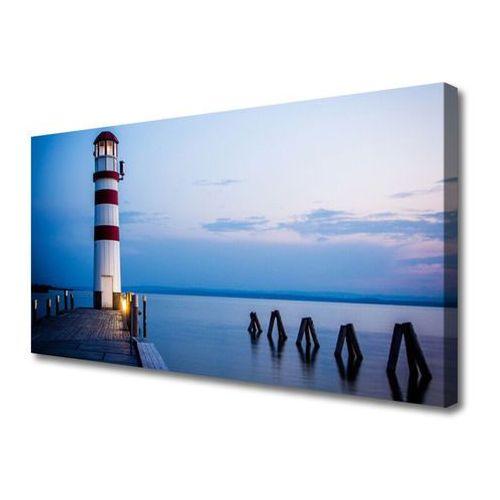Tulup.pl Obraz na płótnie latarnia morska architektura
