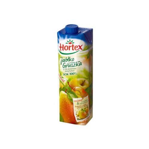 Hortex Sok jabłkowo-gruszkowy z delikatnym miąższem 100%
