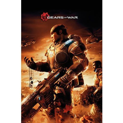 Brak Gears of war - żołnierz - plakat