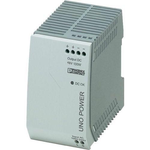Zasilacz na szynę DIN Phoenix Contact UNO-PS/1AC/48DC/100W 48 V/DC 2.1 A 100 W 1 x