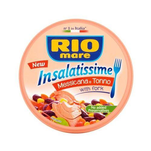 220g sałatka meksykańska z tuńczykiem + widelec marki Rio mare