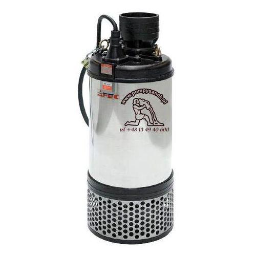 FS 6220 - AFEC pompa odwodnieniowa dla budownictwa Hmax - 50m, wydajność do 192 m³/h - zmiana na PRORIL TANK 6220, AFEC FS 6220