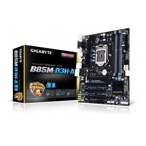 Gigabyte GA-B85M-D3H-A, B85, DualDDR3-1600, SATA3, HDMI, DVI, D-Sub,