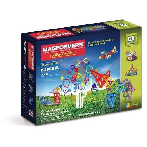Magformers - klocki magnetyczne Brain, 192 elementy - Magformers