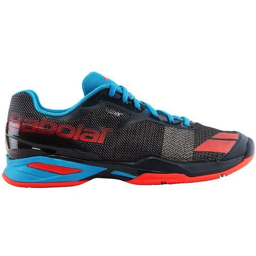 Babolat  jet all court man - grey/red/blue