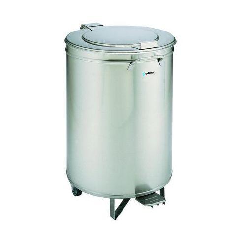 Edenox Pojemnik na odpadki z pokrywą otwieraną pedałem 105 l | , cuvp-105
