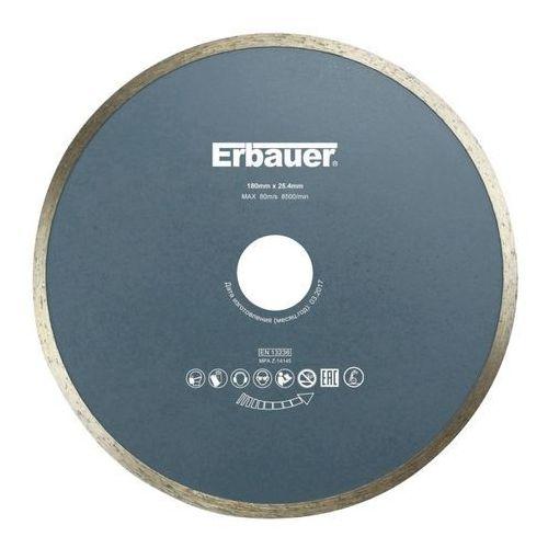 Tarcza diamentowa Erbauer ciągła 180 x 25,4 mm, DAB28032