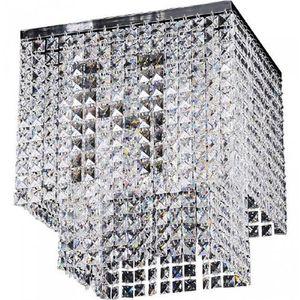 Spotlight Plafon lampa sufitowa euphoria 5970328 oprawa kryształowa crystal kwadratowa przezroczysta (5901602329573)