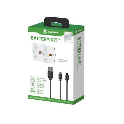 Zestaw ładujący SNAKEBYTE Battery:Kit do Xbox One (4039621913181)