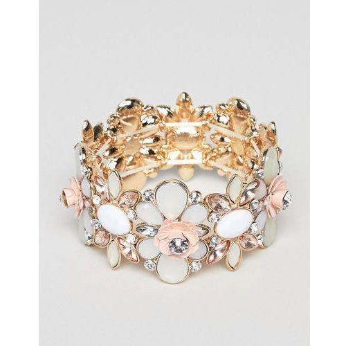 True Decadance Blush Embellished Bracelet - Multi