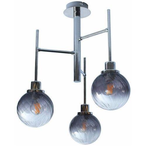 Rabalux Loftowa lampa sufitowa semira 5003 metalowa oprawa kule balls plafon dekoracyjne pręty chrom barwione (5998250350035)
