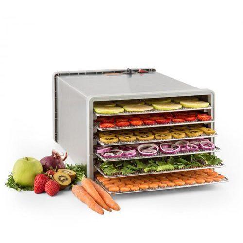 Klarstein Fruit Jerky Pro 6 automat do suszenia dehydrator 630W 6 poziomów stal (4260435917755)