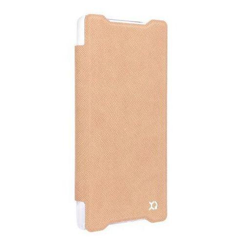 Etui XQISIT Adour do Xperia Z5 Compact Brązowy + Zamów z DOSTAWĄ JUTRO!, kolor brązowy