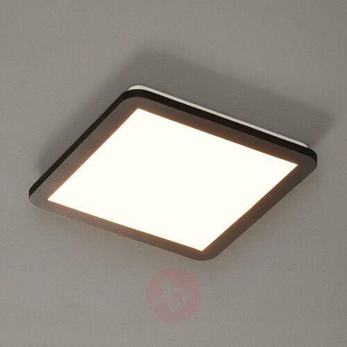 Trio RL Camillus R62931832 plafon lampa sufitowa IP44 1x18W LED 3000K czarny mat / biały, R62931832
