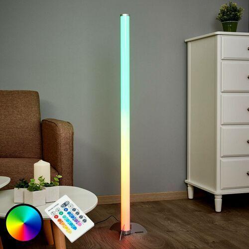 Globo ROCKY lampa stojąca LED Srebrny, 1-punktowy - Wielokolorowy/Lokum dla młodych - Obszar wewnętrzny - Stehleuchte - Czas dostawy: od 2-4 dni roboczych, 25889