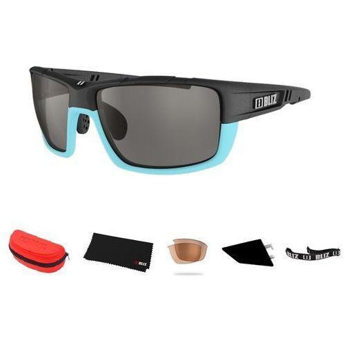 Sportowe okulary przeciwsłoneczne Bliz Tracker Ozon niebieskie
