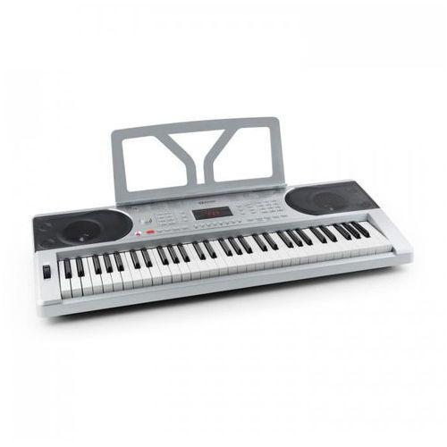 Etude 300 keyboard 61 klawiszy 300 głosów 300 rytmów 50 demo srebrny